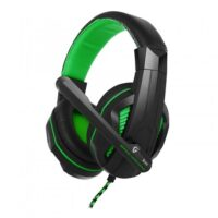 Наушники Gemix X-370 black-green