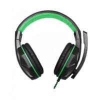 Наушники Gemix X-370 black-green