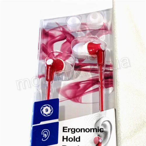 Наушники Panasonic Ergofit RP-HJE118 Red Купить в Запорожье