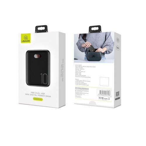 Купить в Запорожье Power Bank Usams PB9 Dual USB 10000mAh